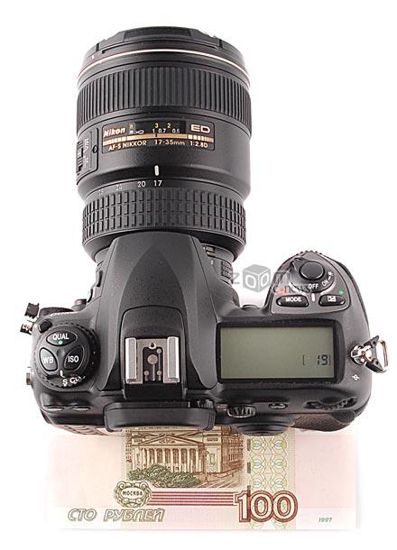 Nikon D200 довольно компактна для профессиональной камеры